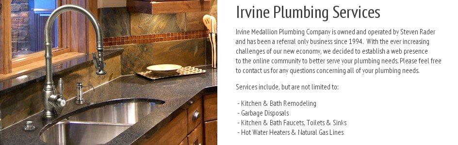 Medallion Plumbing   Irvine Medallion Plumbing